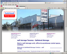 self storage Safeland Tacoma